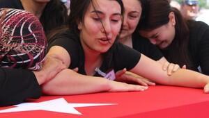 Şehit astsubayı, Kırşehir'de 5 bin kişi uğurladı