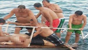 Denizde yatın pervanesinin çarptığı kişi öldü