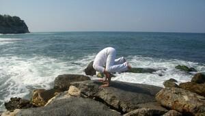 Yoga Festivali'nde yaşamı kutla