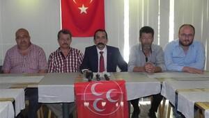 MHP'de 5 ilçe başkanı istifa etti
