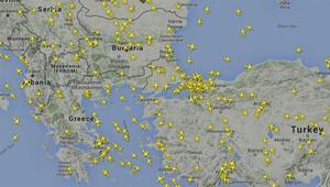 Atatürk Havalimanı'nda uçuşlar durdu