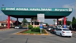 Adana Havalimanı girişinde sıkı kontrol