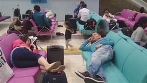 Çorluya inen THY uçağında 40 transit yolcuya geçici vize