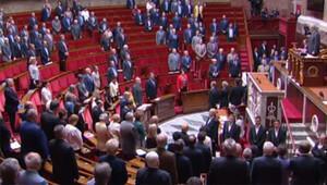 Fransa meclisinde İstanbul'da hayatını kaybedenler için saygı duruşu