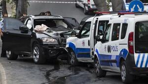 Beşiktaş'ta hırsızlık zanlıları ile polis çatıştı