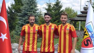 Kayserispor'da 3 transfer birden
