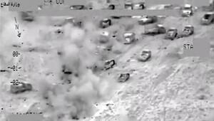 Felluce'den kaçmaya çalışan IŞİD militanları böyle vuruldu