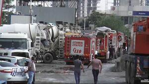 İstanbul'da beton santrali çöktü: 2 işçi öldü