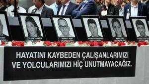 Atatürk Havalimanı'nda ağlatan tören