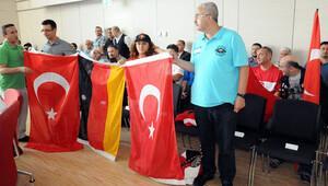 İstanbul'da ölenlere, Erlangen'de saygı duruşu