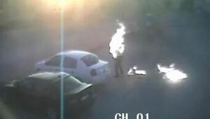 Karaman'da dehşet: Kendini yaktı