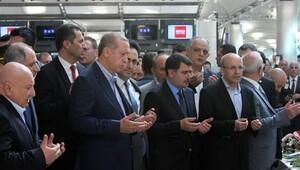 Erdoğan, Atatürk Havalimanı'nı ziyaret etti