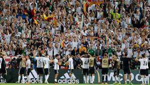 Almanya'nın galibiyeti, Alman basınında