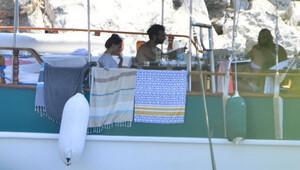 İlker Kaleli ile Burçin Terzioğlu Marmaris'te tatilde (Foto-Galeri)