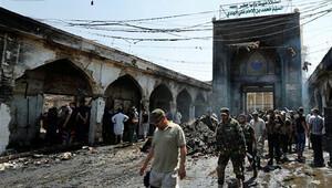 Irak'ta Şii türbesine intihar saldırısı