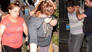 Ahmet bebeği kaçıranlar polisi karşılarında görünce…