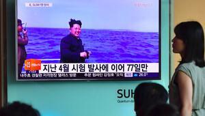 Kuzey Kore'nin balistik füze denemesi başarısız oldu