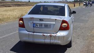Siverek'te otomobile silahlı saldırı: 1 bebek ölü, 4 yaralı