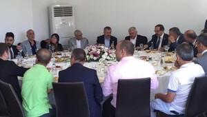 Başbakan, milletvekili Şaban Dişli'nin evinde kahvaltı yaptı