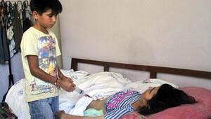 Küçük Seçkin ve annesine, Bakan Elvan sahip çıktı
