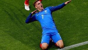EURO 2016'nın en iyi oyuncusu Griezmann!