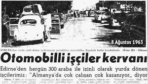 Bir zamanlar 300 otomobille Kapıkule 'ana-baba günü'ne dönüyordu
