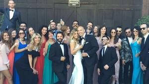 İrem Baysal ve Enrique Santana, California'da evlendi