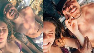 Murat Boz ile Aslı Enver tatile çıktı