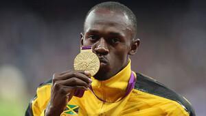 Bolt, Jamaika'nın olimpiyat takımında