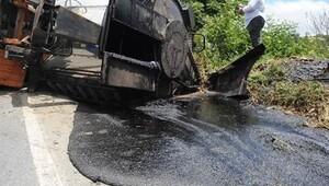 Yavuz Sultan Selim Köprüsü'ne malzeme taşıyan kamyon kaza yaptı: 1 ölü