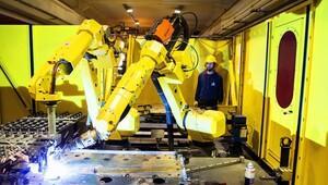 İş kazalarını engelleyen robot