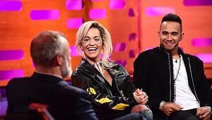 Lewis Hamilton-Rita Ora ikilisi aşk mı yaşıyor?