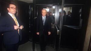 MHP lideri Bahçeli adliyede ifade verdi
