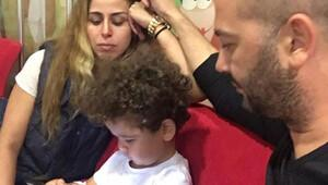 Niran Ünsal ve İbrahim Gugu çiftinin oğlu Bera'dan güzel haber