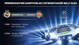Fenerbahçe'nin Şampiyonlar Ligi'ndeki rakibi belli oldu (Fenerbahçe'nin ilk maçı ne zaman?)