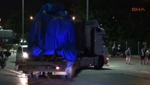 Atatürk Havalimanı'na 2 tır mühimmat ve 1 zırhlı araç getirildi