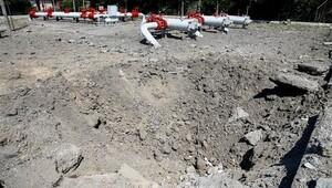 Ankara'da jetler doğalgaz istasyonunu hedef almış