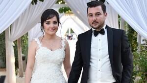 Esra ile Erkan evlendi