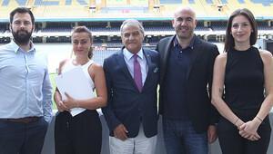 Monaco yetkilileri Ülker Stadı'nı gezdi