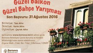 Balkon ve bahçeler yarışacak