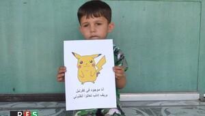 Suriyeli çocukların 'Pokemon' umudu