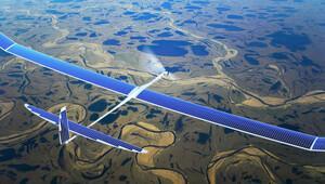 Facebook'un dev güneş enerjili uçağı semalarda!