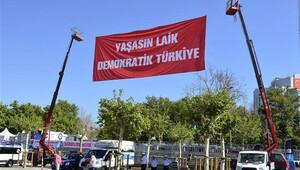 Taksim'de hedef 1 milyon kişi