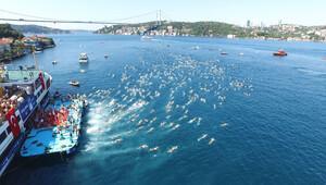 Boğaz'da yüzme bayramı