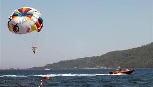 Marmaris'teki su sporu istasyonları alarma geçirildi