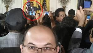'Darbeci'den Beyaz Saray'da selfie