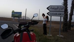 Akademisyenin motosikletle dünya turu sona erdi