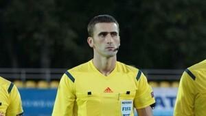 Osmanlıspor-Nomme maçına Karadağlı hakem