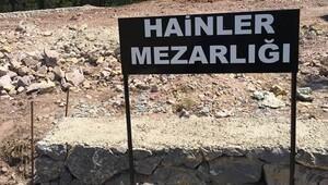 'Vatan Hainleri Mezarlığı' görüntülendi
