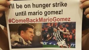 Mario Gomez için açlık grevine başladı